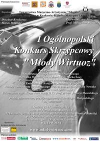 """I Ogólnopolski Konkurs Skrzypcowy """"Młody Wirtuoz"""" - Kraków, 12-14 kwietnia 2013"""