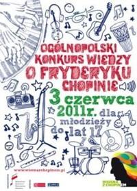 Konkurs wiedzy o Fryderyku Chopinie dla młodzieży
