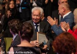 prof. Mieczysław Tomaszewski - laureat Nagrody Honorowej