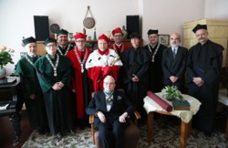 Prof. Andrzej Koszewski doktorem honoris causa AM w Poznaniu