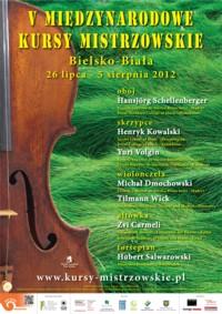V Międzynarodowe Kursy Mistrzowskie Pro Bono Musicae w Bielsku-Białej