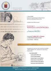 Hommage à Wanda Landowska