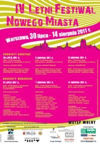 IV Letni Festiwal Nowego Miasta 2011