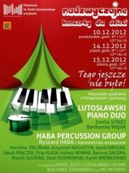 Grudniowe koncerty dla dzieci w Filharmonii Krakowskiej