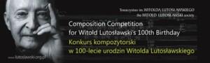 Międzynarodowy Konkurs Kompozytorski w 100-lecie urodzin Witolda Lutosławskiego
