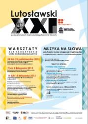 Lutosławski XXI