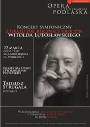 Koncert z okazji 100. rocznicy urodzin Witolda Lutosławskiego
