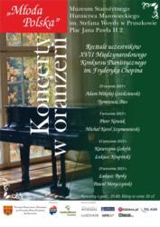 Recitale polskich uczestników Konkursu Chopinowskiego