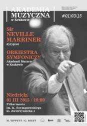 Koncert nadzwyczajny pod dyrekcją sir Neville'a Marrinera
