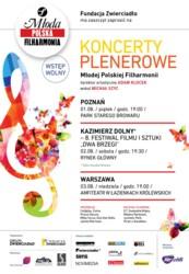 Koncerty plenerowe Młodej Polskiej Filharmonii