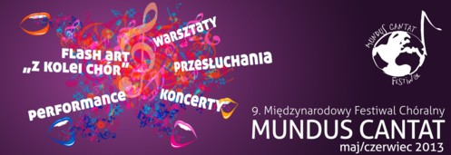 Midzynarodowy Festiwal Chralny MUNDUS CANTAT Sopot 2013