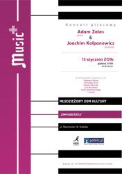Koncert gitarowy Adama Zalasa