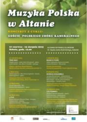 Muzyka Polska w Altanie