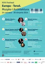 "XVIII Festiwal ""Europa – Toruń. Muzyka i Architektura"""