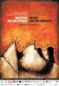 """IV Międzynarodowy Festiwal Muzyki Kameralnej """"Muzyka na Szczytach"""" 2012"""