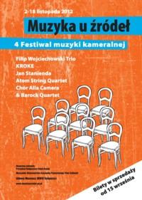 """Festiwal Muzyki Kameralnej """"Muzyka u Źródeł"""" 2012"""