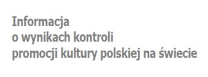 Raport o promocji kultury polskiej na świecie