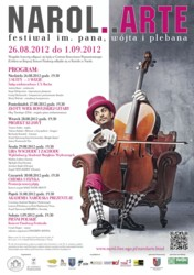 Festiwal NAROL.ARTE im. Pana, Wójta i Plebana 2012