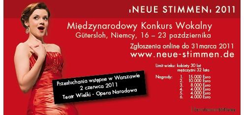 Neue Stimmen 2011
