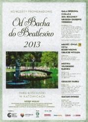 """koncerty Promenadowe """"Od Bacha do Beatlesów"""" - Katowice 2013"""