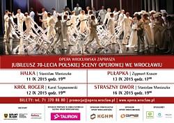 70-lecie polskiej sceny operowej we Wrocławiu