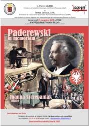 Paderwski in memoriam