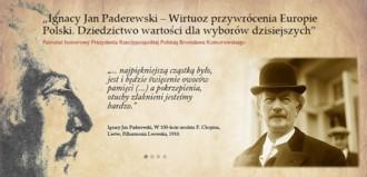 Konferencja Ignacy Jan Paderewski - Wirtuoz przywrócenia Europie Polski
