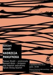 Koncert muzyki Andrzeja Panufnika