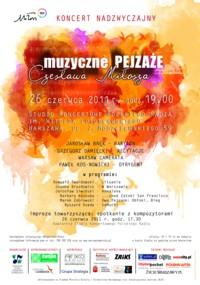 Muzyczne pejzaże Czesława Miłosza