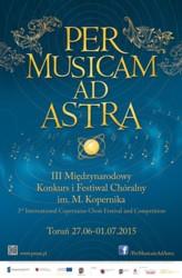 Per Musicam Ad Astra - w Toruniu