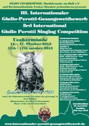 III Międzynarodowy Konkurs Wokalny im. Giulio Perottiego w Ueckermünde