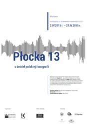 Płocka 13 - u źródeł polskiej fonografii