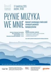 Koncert promujący twórczość młodych polskich kompozytorów - w Gorzowie