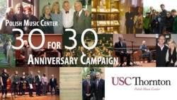 "Celebrate ""30 for 30"" with the Polish Music Center"