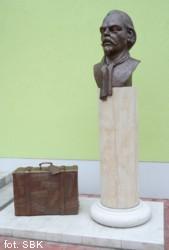 odsłonięty w maju 2015 roku w Ueckermünde pomnik Giulio Perottiego
