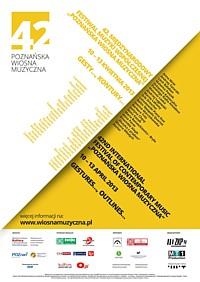 """42. """"Poznańska Wiosna Muzyczna"""" 2013"""