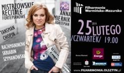 Mistrzowski Recital Fortepianowy Anny Miernik