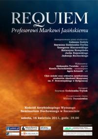 Requiem Profesorowi Markowi Jasińskiemu