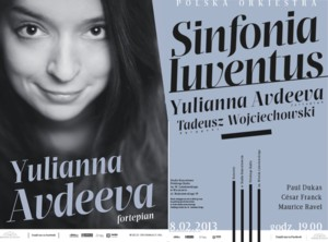 Yulianna Avdeeva zagra z Sinfonią Iuventus