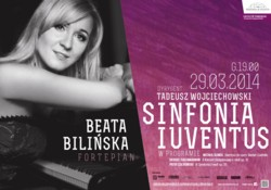 Sinfonia Iuventus wystąpi z Beatą Bilińską