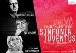 Sinfonia Iuventus zaprasza na Koncert Walentynkowy z muzyką Krzesimira Dębskiego