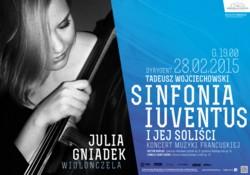 Sinfonia Iuventus i jej soliści. Koncert muzyki francuskiej