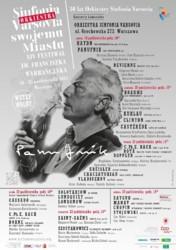 XIV Festiwal im. Franciszka Wybrańczyka Sinfonia Varsovia Swojemu Miastu