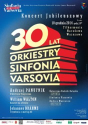 30 lat Sinfonii Varsovii - Koncert Jubileuszowy