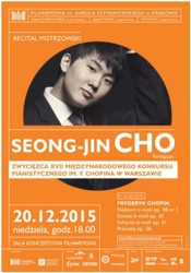 Recital mistrzowski Seong-Jin Cho