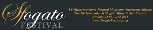 """VI Międzynarodowy Festiwal Muzyczno-Artystyczny """"Sfogato"""" 2015"""