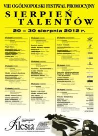 """Ogólnopolski Festiwal Promocyjny """"Sierpień Talentów"""" 2012"""