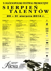 Sierpień Talentów 2014