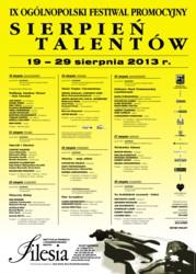 Sierpień talentów 2013
