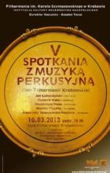 V Spotkania z muzyką perkusyjną w Krakowie